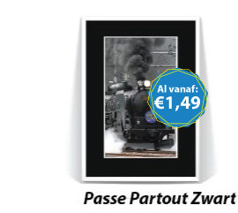 Passe Partout Zwart