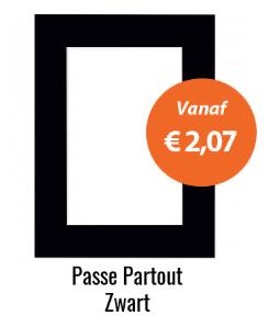 Zwarte Passe Partouts